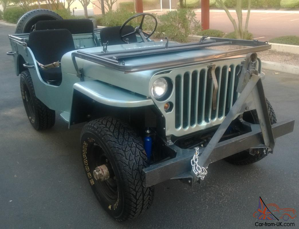 1944 willy s jeep by ford model cj 2. Black Bedroom Furniture Sets. Home Design Ideas