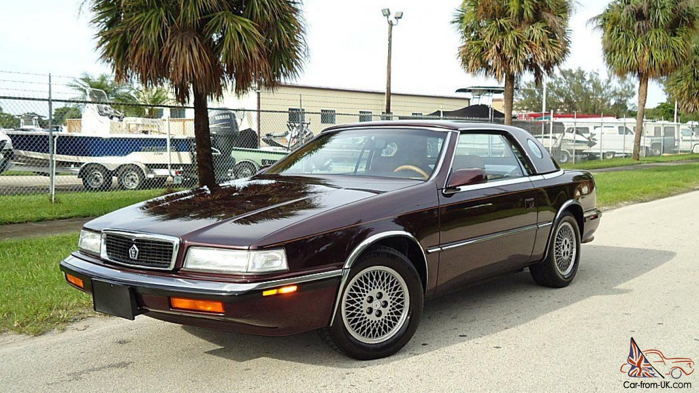 Lebaron Tc By Maserati Convertible