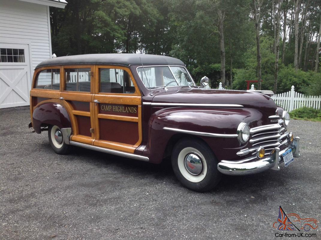 1948 plymouth woodie woody station wagon
