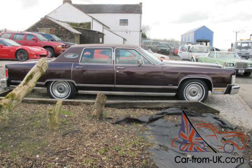 1979 lincoln town car 41 000 miles 6 6 litre automatic. Black Bedroom Furniture Sets. Home Design Ideas