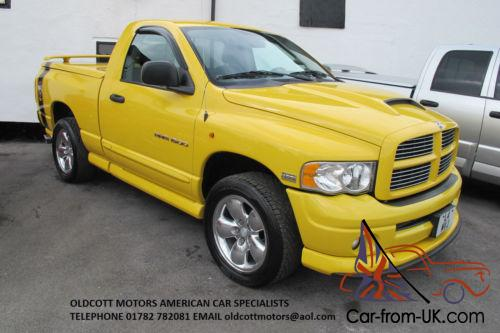 2004 dodge ram rumble bee regular cab 5 7 hemi auto 4x4 pickup. Black Bedroom Furniture Sets. Home Design Ideas