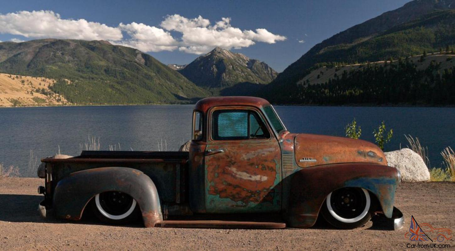 Awesome patina on a 1953 5 window chevy pickup 1 2 ton shortbed this