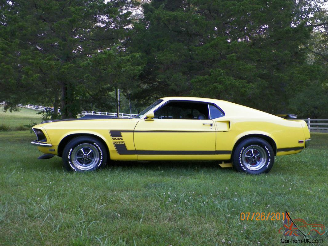 1969 mustang fastback boss 302 tribute. Black Bedroom Furniture Sets. Home Design Ideas