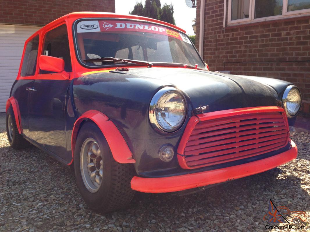 Classic Mini 7 Seven Race Car - Track - Hill - Historic - Mighty - Fast