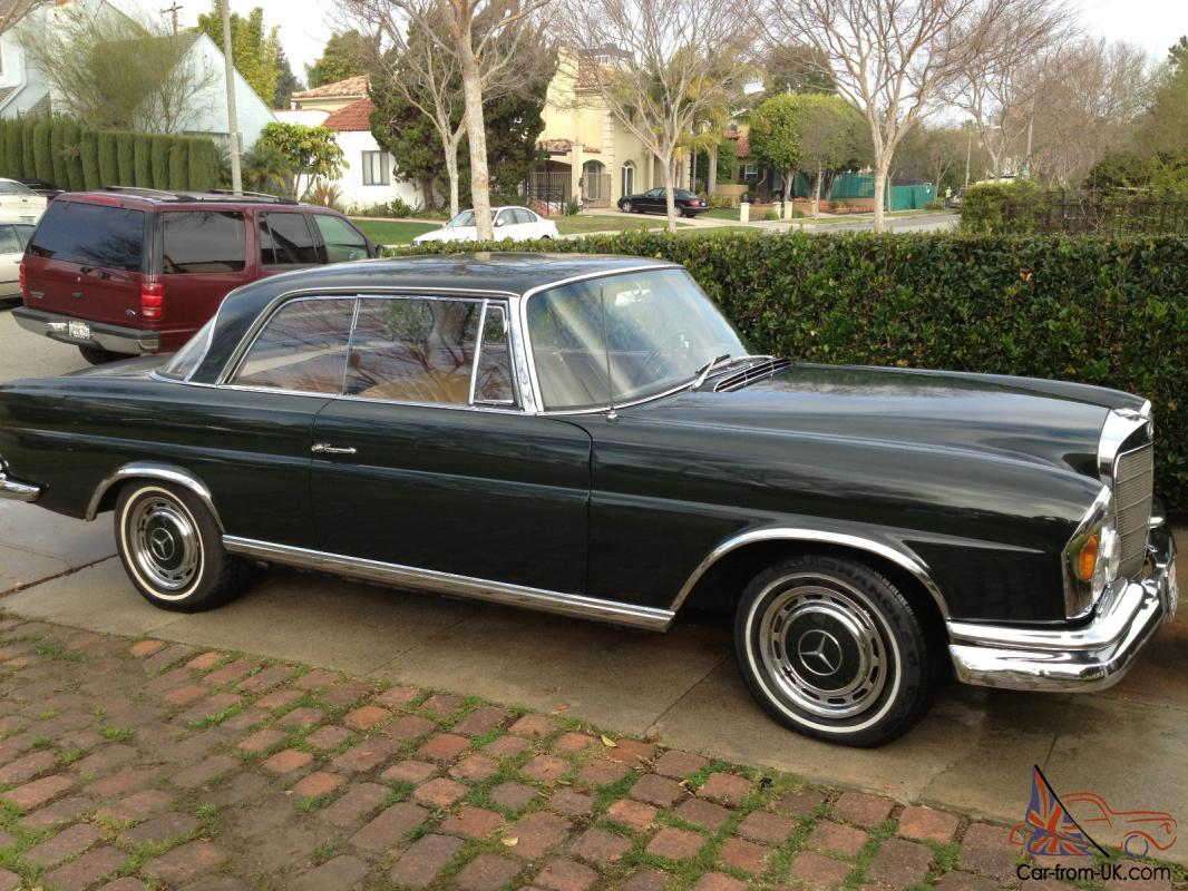 1966 mercedes benz 250se coupe for 1966 mercedes benz for sale
