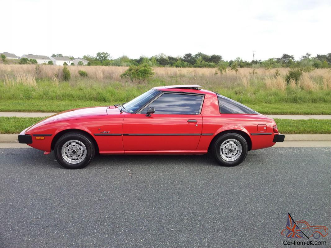 mazda rx 7 1979 low miles all documentation mint collector car mint sa22c. Black Bedroom Furniture Sets. Home Design Ideas