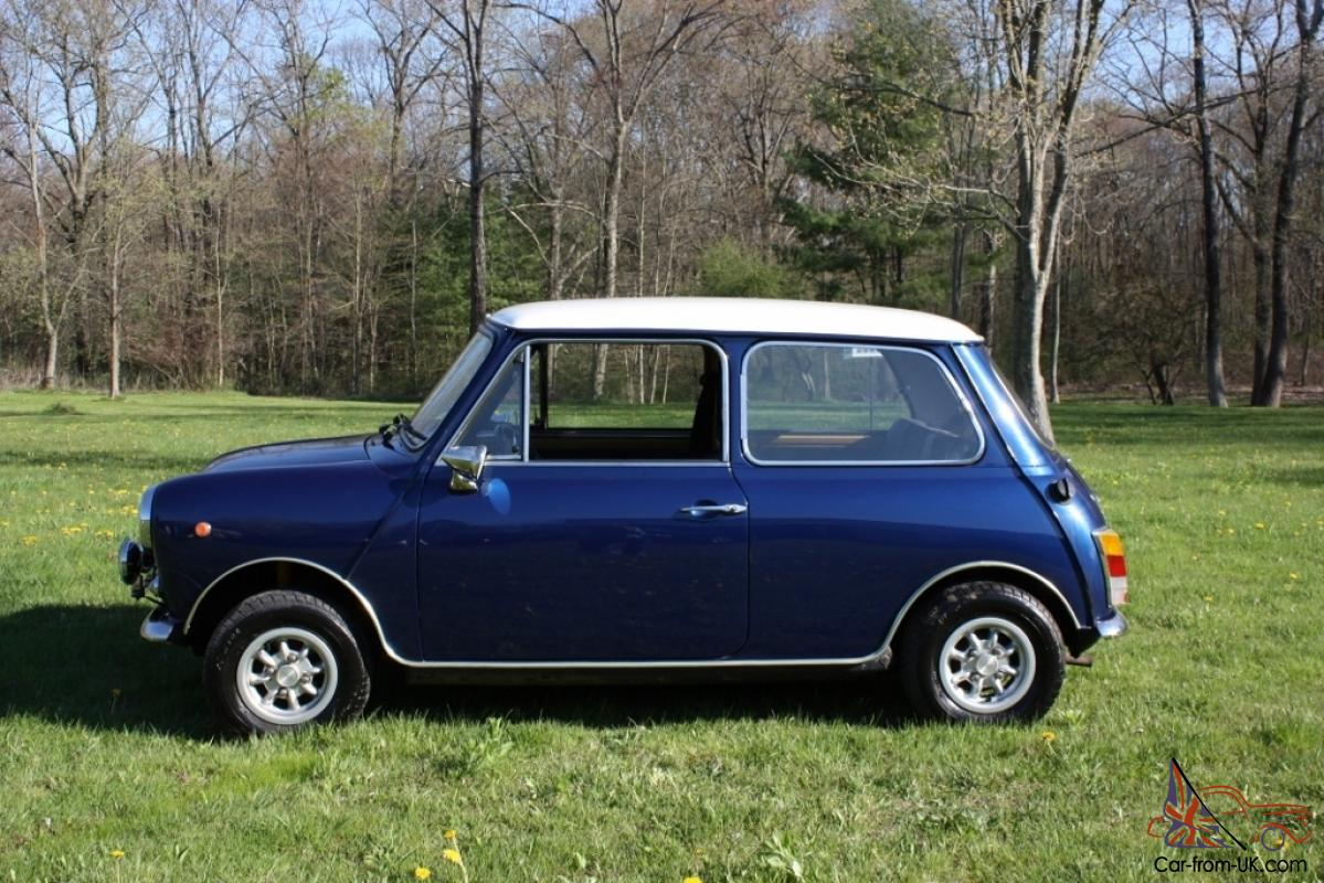 1972 mini cooper innocenti 1275 the italian mini. Black Bedroom Furniture Sets. Home Design Ideas