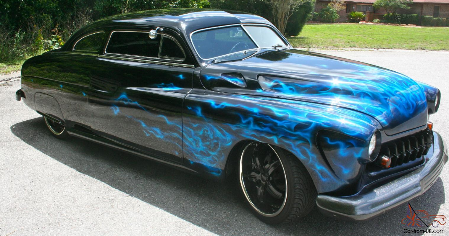 Car Flames: Chopped Top Lead Sled Shaved Dropped