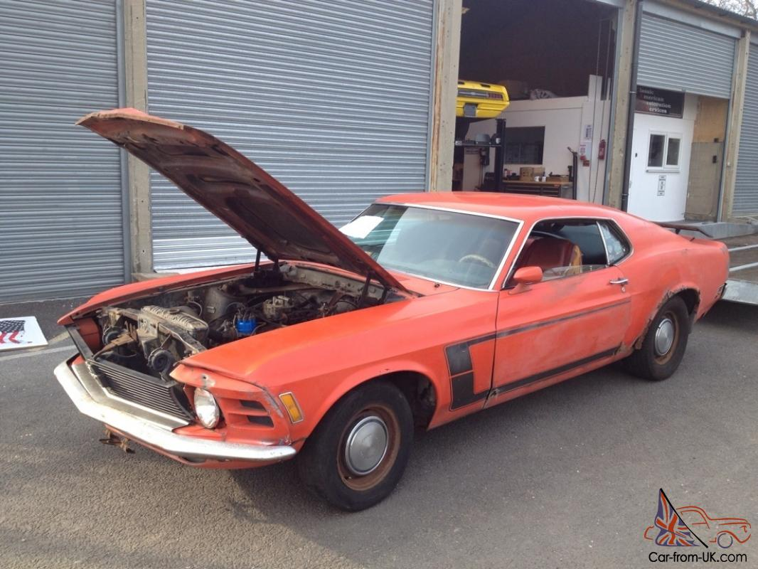1970 mustang fastback grabber special edition
