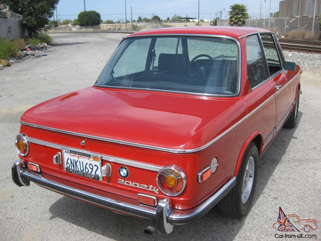 1972 bmw 2002tii verona red xlnt collector quality 5 speed. Black Bedroom Furniture Sets. Home Design Ideas