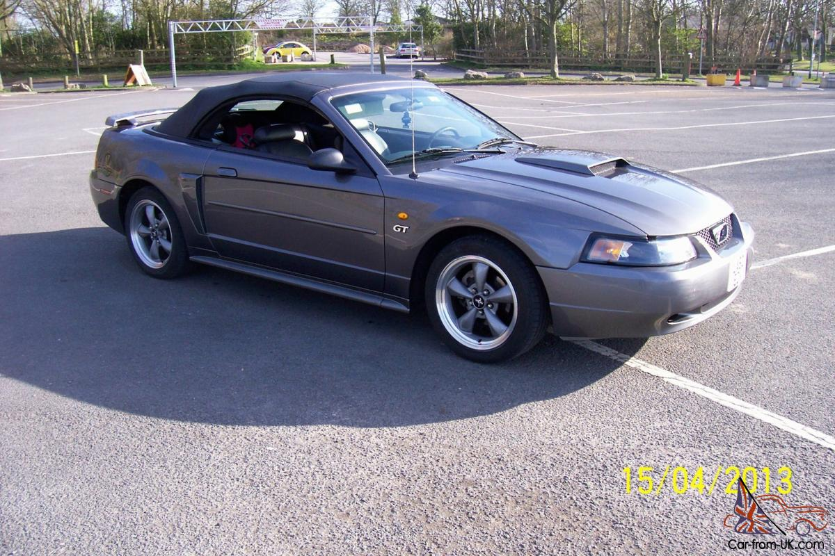 2003 ford mustang 4 6 gt convertable. Black Bedroom Furniture Sets. Home Design Ideas