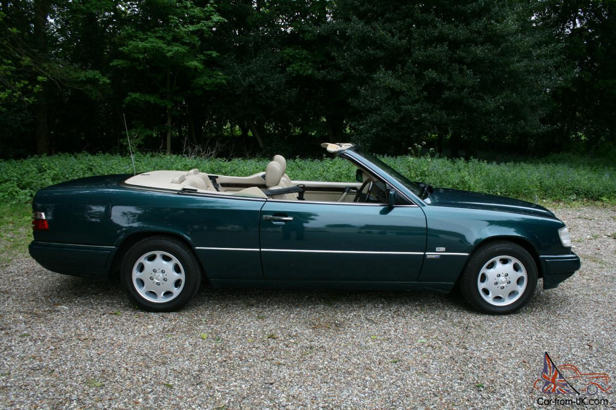 mercedes e320 sportline cabriolet 96 p only 1 previous owner. Black Bedroom Furniture Sets. Home Design Ideas