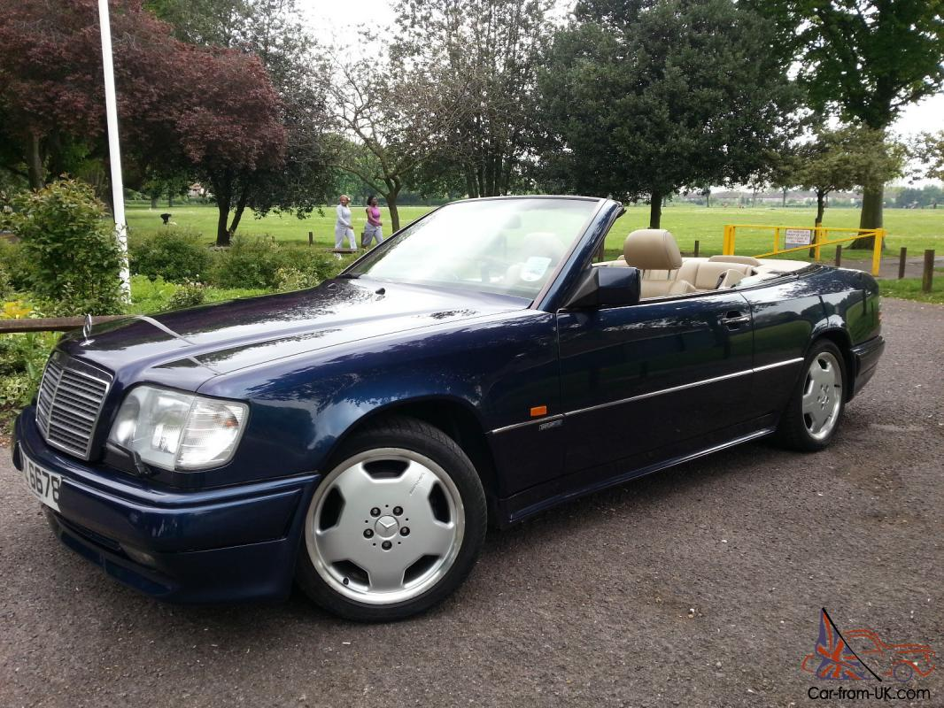 1996 mercedes e320 auto blue amg bodykit 5 speed auto for Mercedes benz e320 convertible for sale