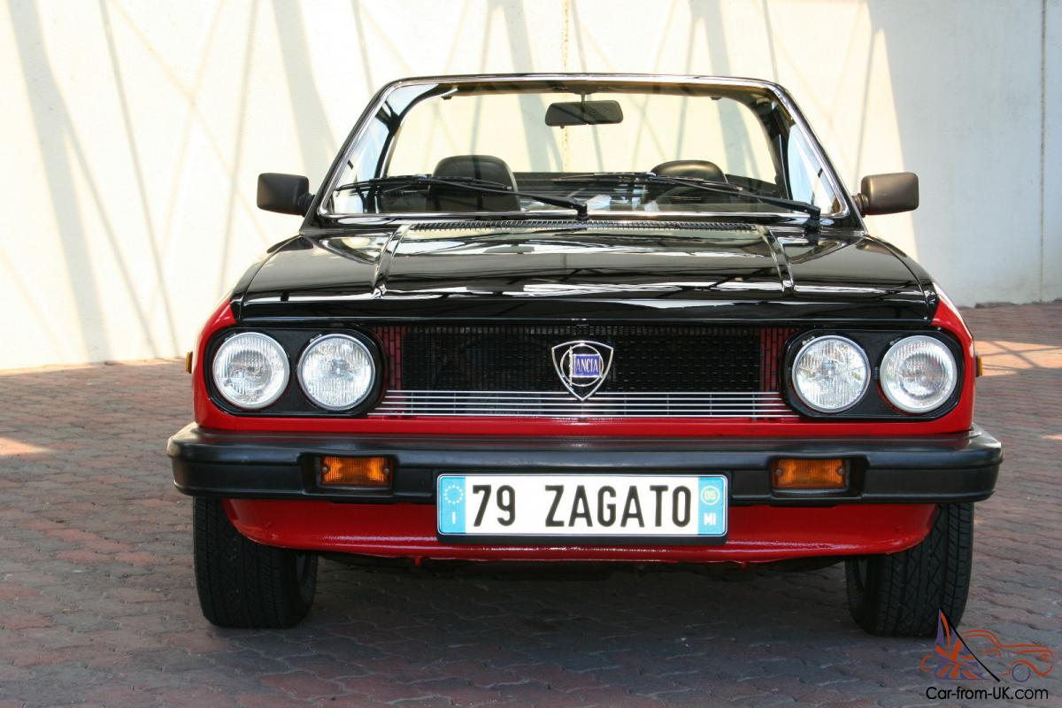 1979 lancia beta zagato (spider)