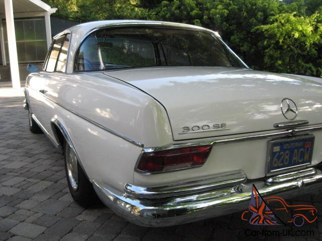 1967 mercedes benz 300se coupe for Mercedes benz 300se for sale