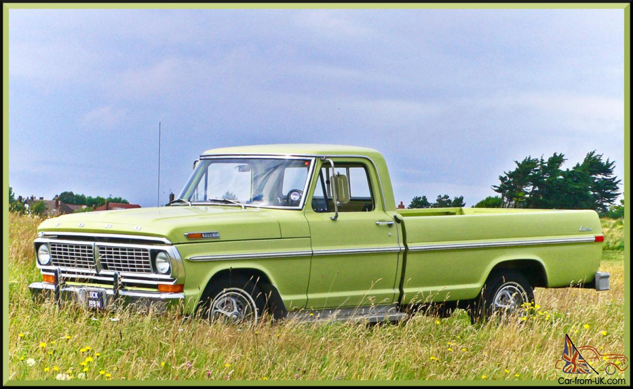 1970 ford f100 pickup, incredible time warp condition