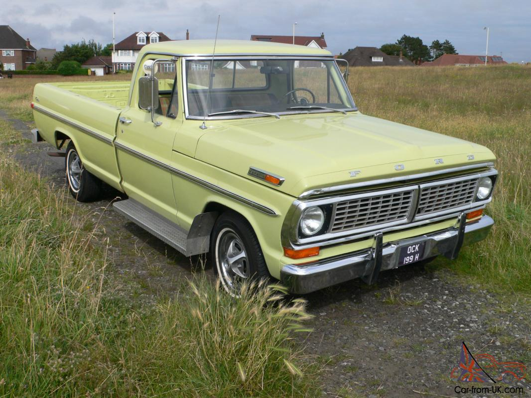 1970 ford f100 pickup incredible time warp condition
