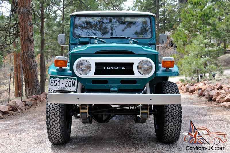 1977 toyota land cruiser fj40 like new. Black Bedroom Furniture Sets. Home Design Ideas