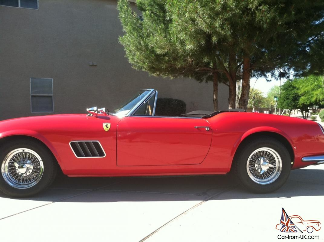 is a ferrari california 250 gt replica between 1958 to 1963 ferrari. Cars Review. Best American Auto & Cars Review