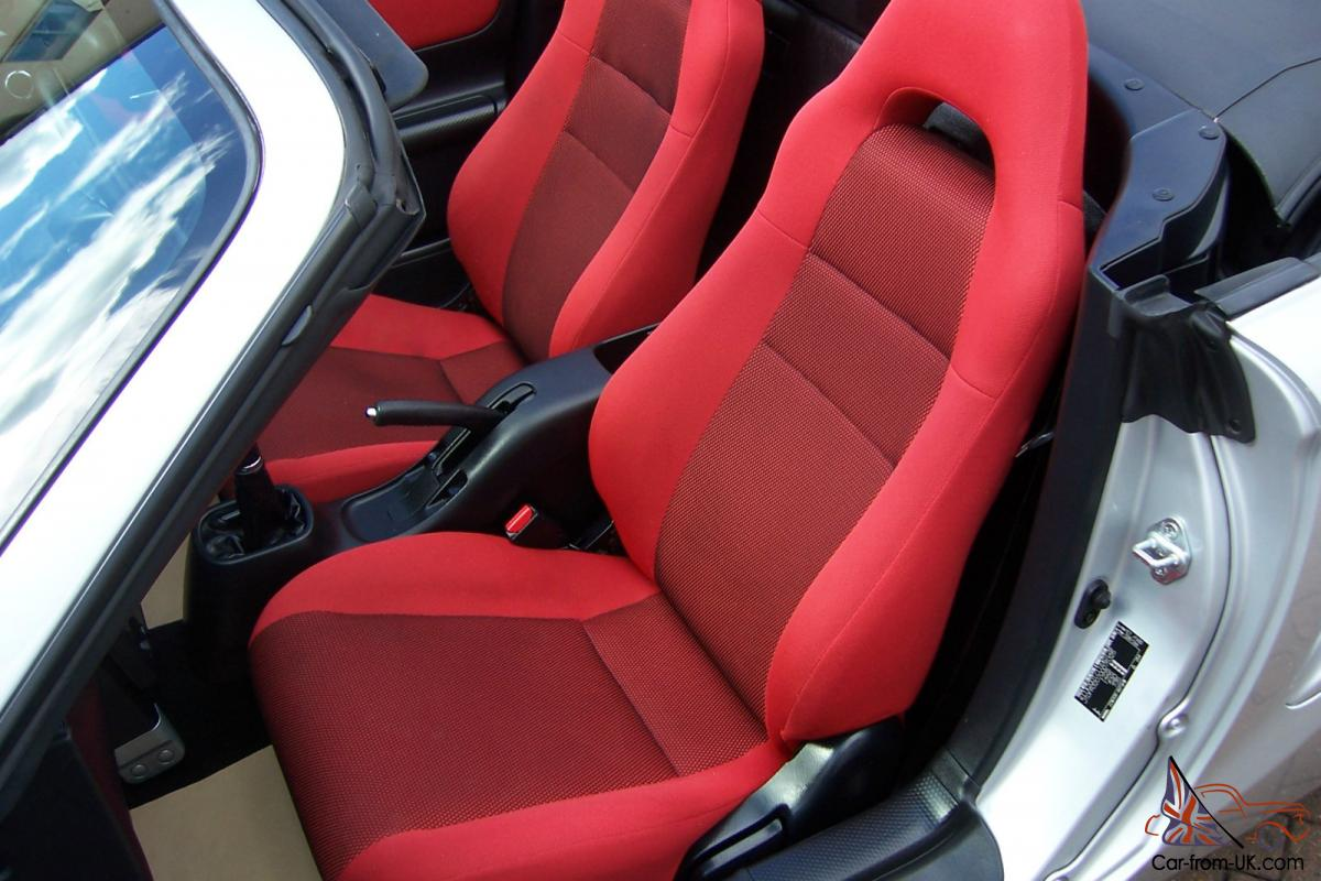 Toyota Mr2 Roadster Mk3 Crystal Silver Acapulco Red