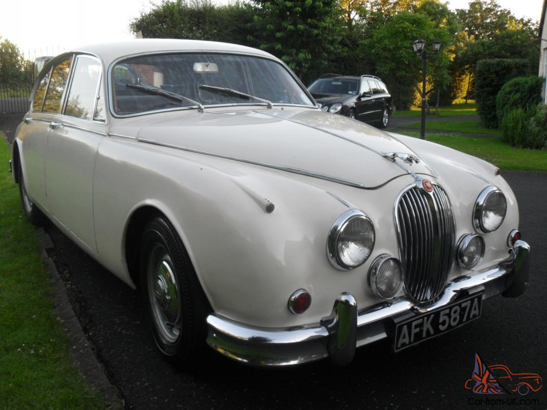 1963 jaguar mk ii white jaguar mk 2 3 4 manual with overdrive for sale 1963. Black Bedroom Furniture Sets. Home Design Ideas