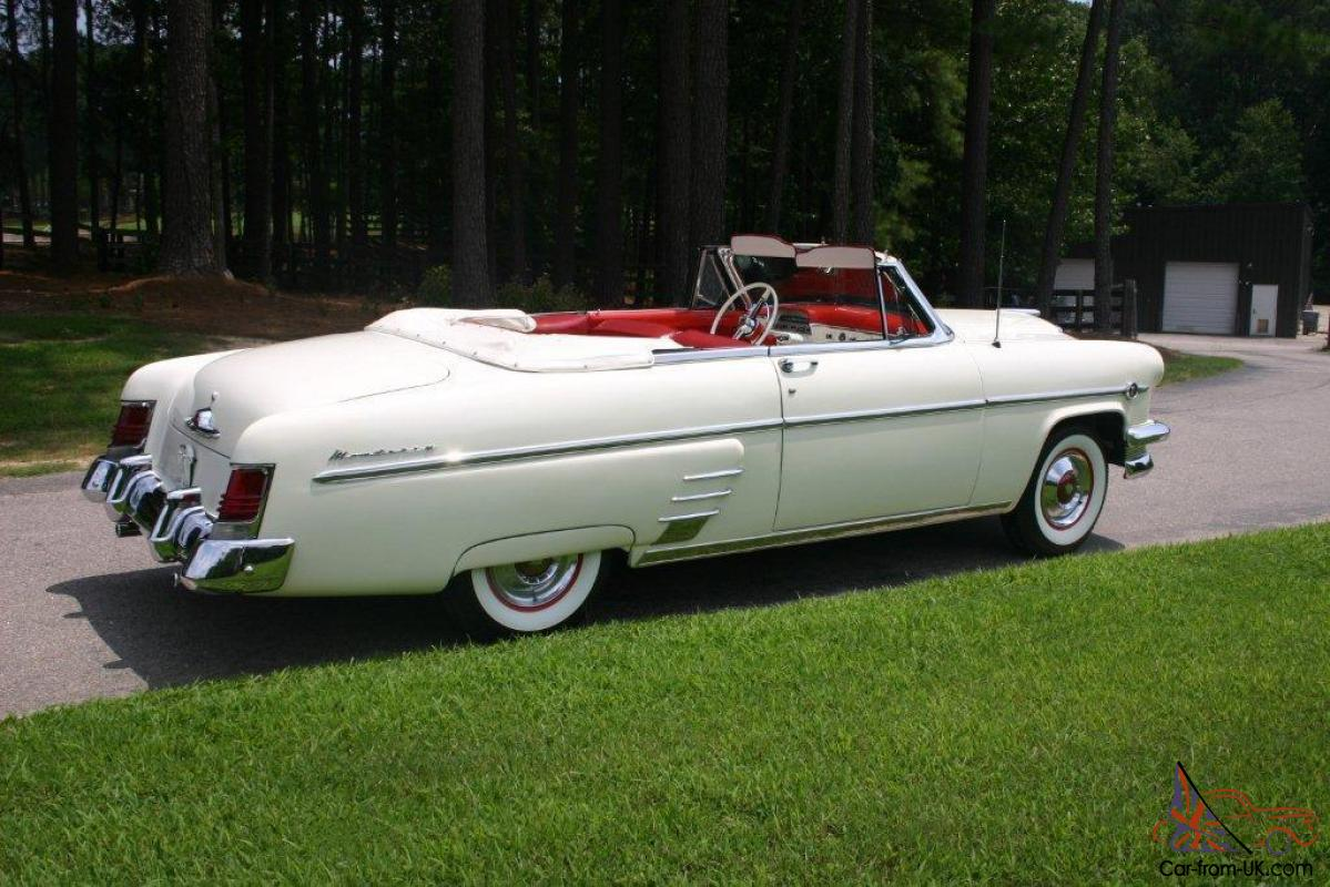 Mercury Convertible White with Red Leather ---NICE CAR--- REDUCED