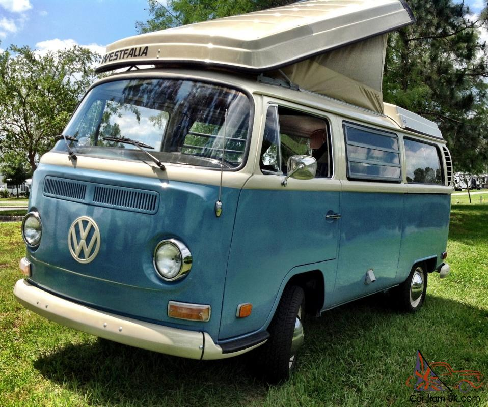 70 vw bus camper westfalia campmobile pop top bay window for Wyoming valley motors vw service