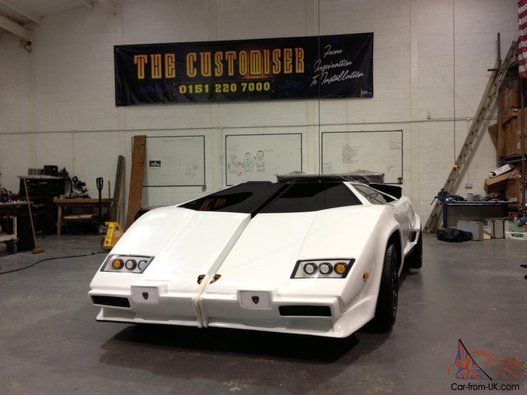 Replica Countach by The Customiser mobile bar White eBay Motors ...