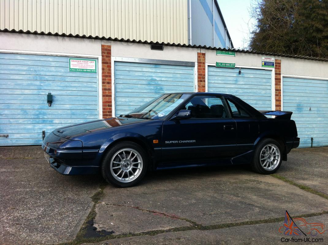toyota mr2 mk1 supercharger manual 30k miles supercharged rh car from uk com 1988 MR2 Interior 1982 Toyota MR2