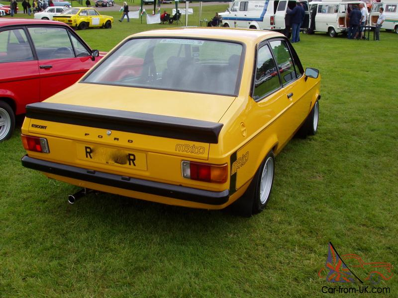 ford escort mk2 rs mexico with 2 1 pinto concours potential. Black Bedroom Furniture Sets. Home Design Ideas