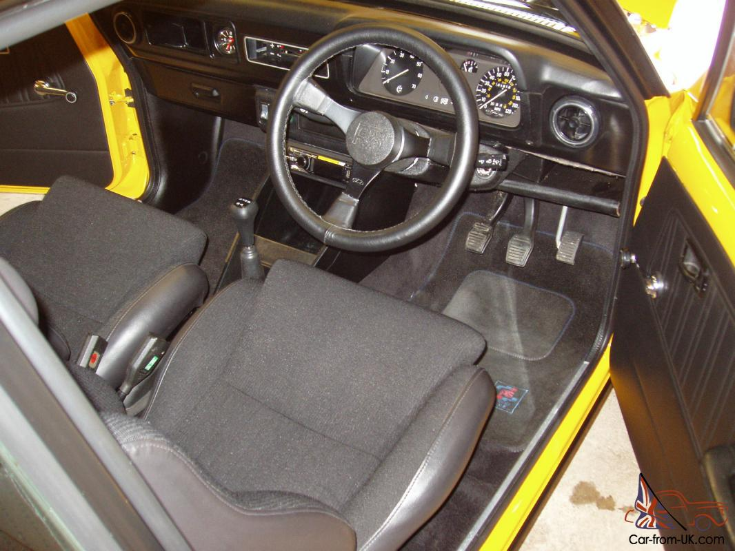Ford Escort MK2 RS Mexico with 2.1 Pinto - Concours Potential
