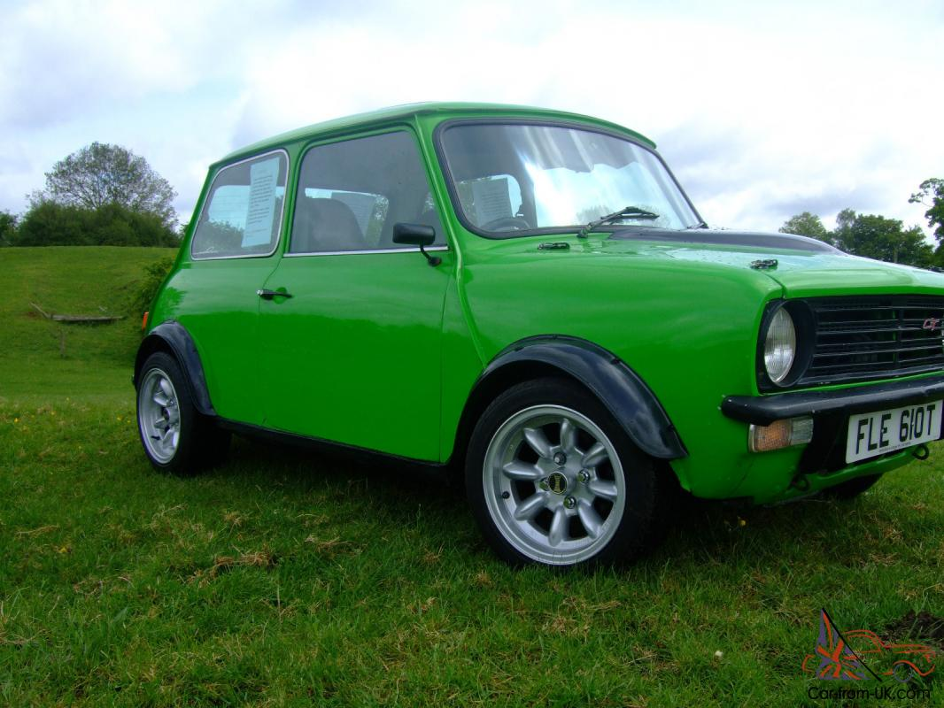 Classic Mini Clubman 1430cc Straight Cut Box Vgc