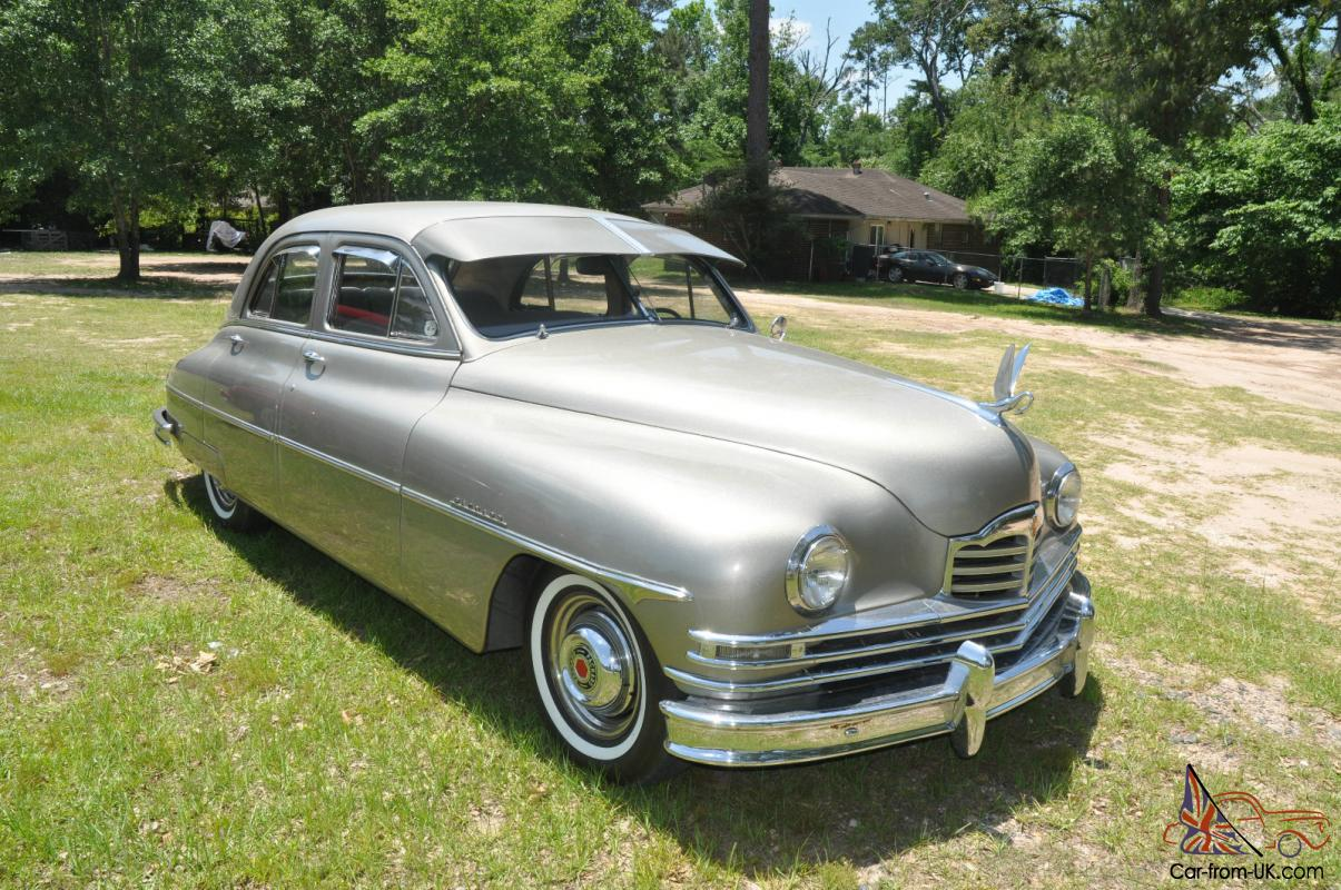 1950 hot rod packard 4 door sedan v8 automatic nice