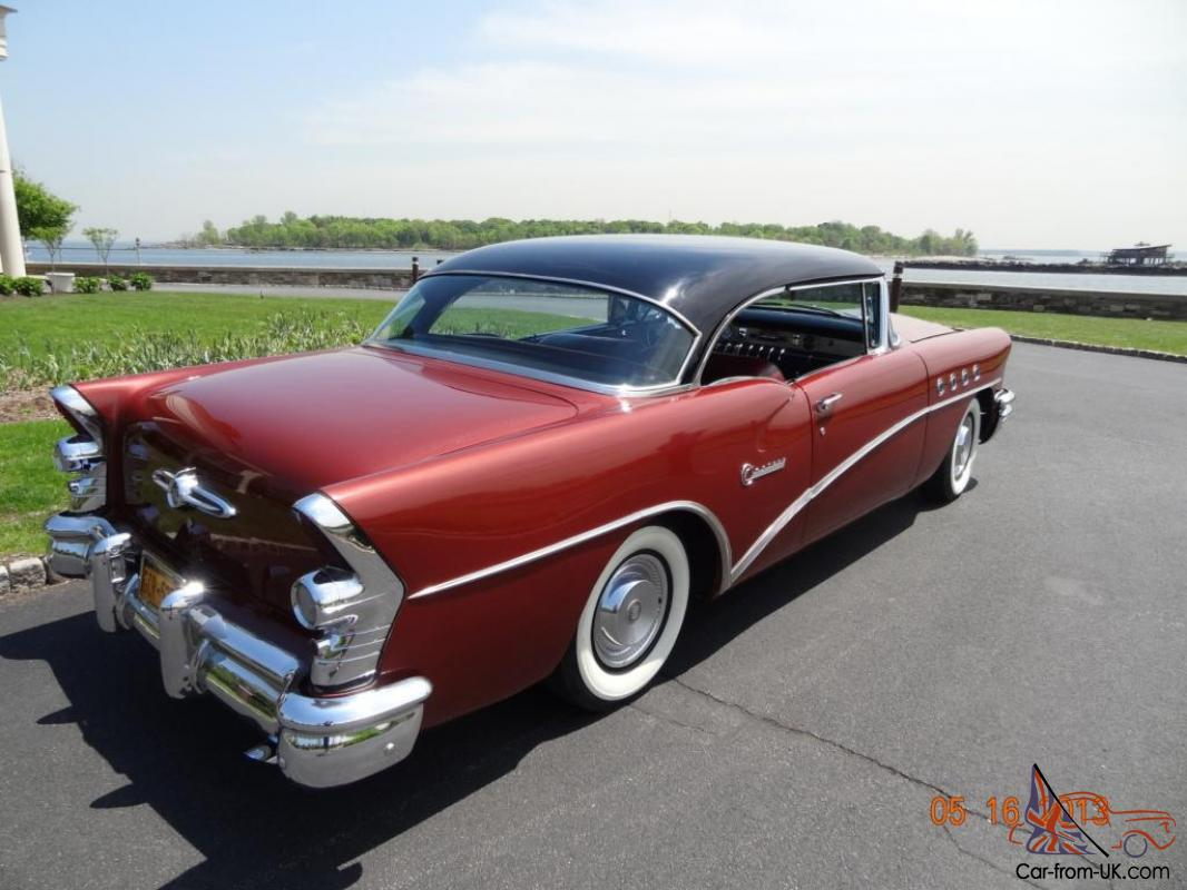 1955 buick century 2 dr htp with very low mileage 61 423miles for 1955 buick century 2 door