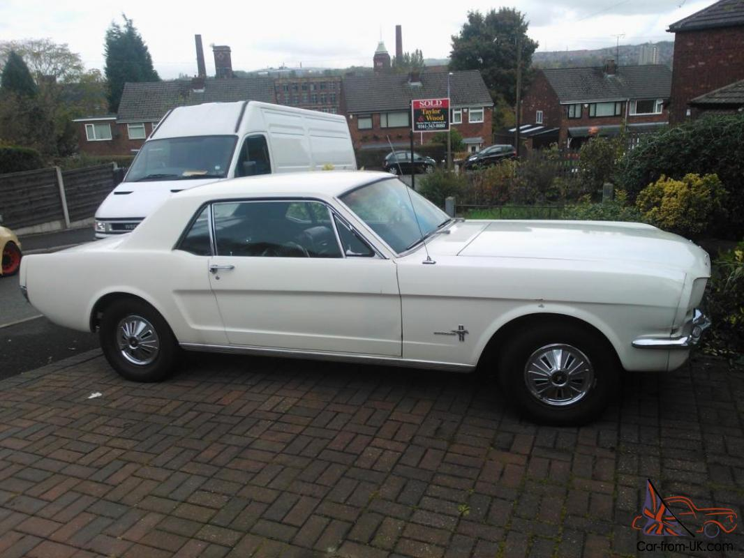 1966 ford mustang notchback 6 cylinder import