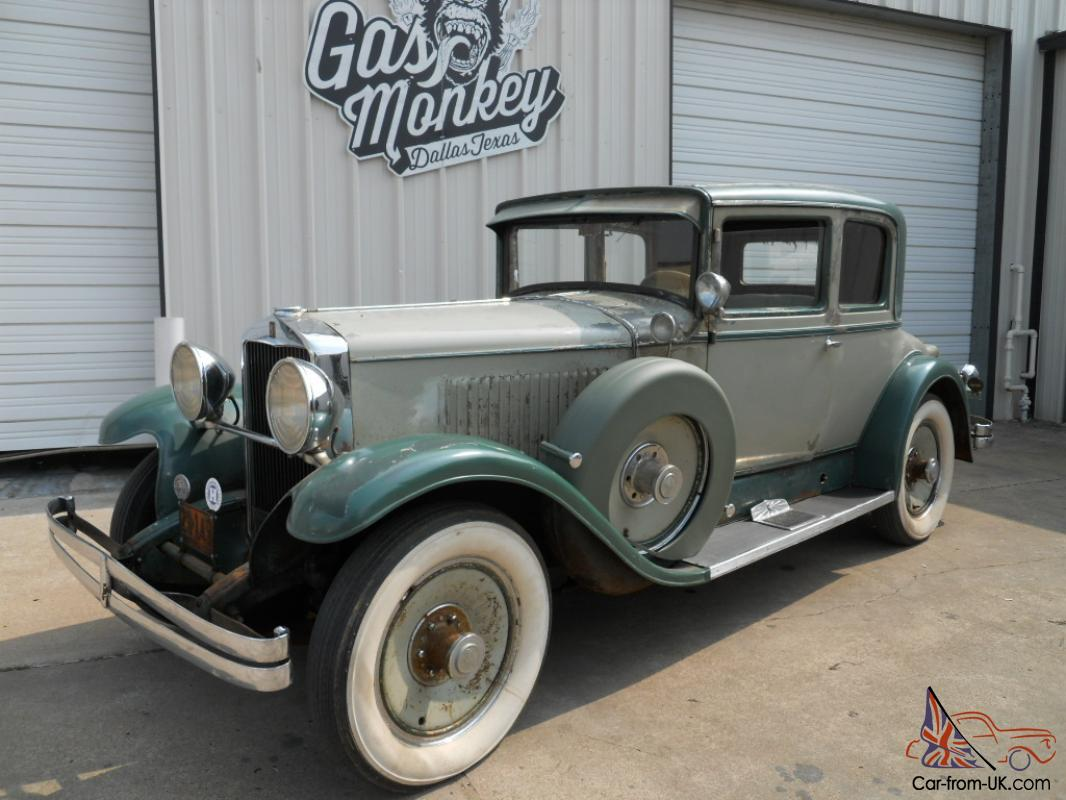 1929 Hupmobile Series M DeLuxe Centry Opera Coupe offered by Gas ...