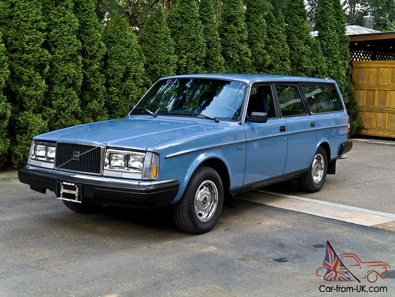 1983 volvo 240dl station wagon one owner amazing. Black Bedroom Furniture Sets. Home Design Ideas
