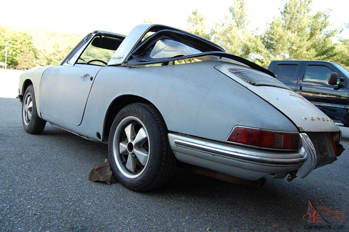 1968 Porsche 911s Soft Window Targa Sportomatic Very Rare