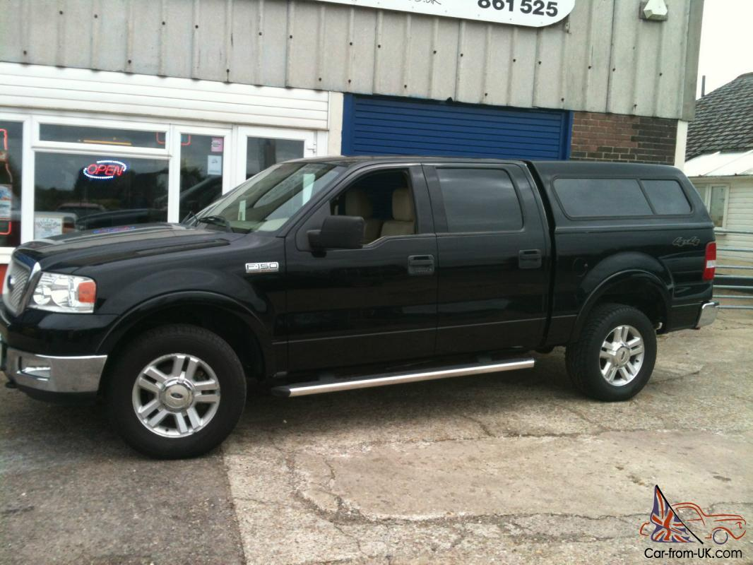 2004 ford f 150 xlt lariat crewcab 4x4 black low mileage. Black Bedroom Furniture Sets. Home Design Ideas