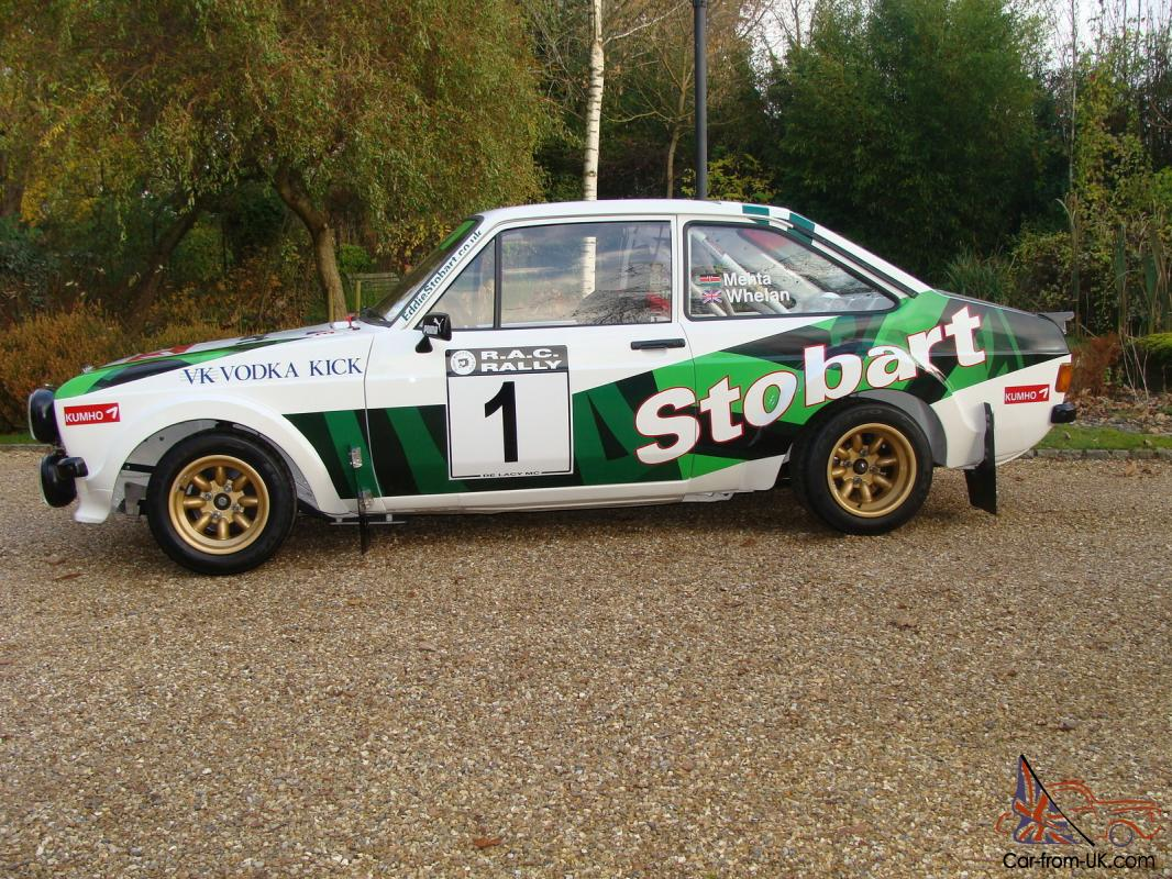 FORD ESCORT Mk2 RS1800 Gp4 HISTORIC RALLY CAR STOBART McRAE 2.0 BDG