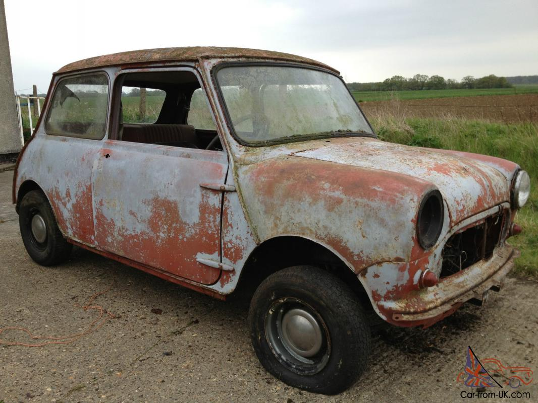 Morris Mini Cooper Mk1 For Restoration Project