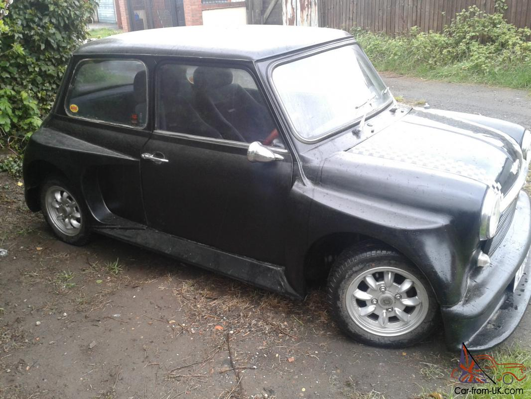 Very Special Mini 1981 Austin Morris Hl Black Rare Body Kit Light
