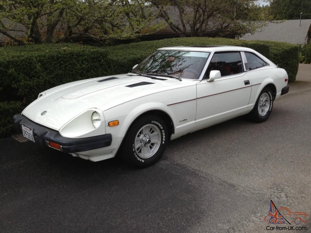 Ann Arbor Nissan >> 1979 Datsun 280ZX, White, 66K Original Miles, Red Interior, Two Owners