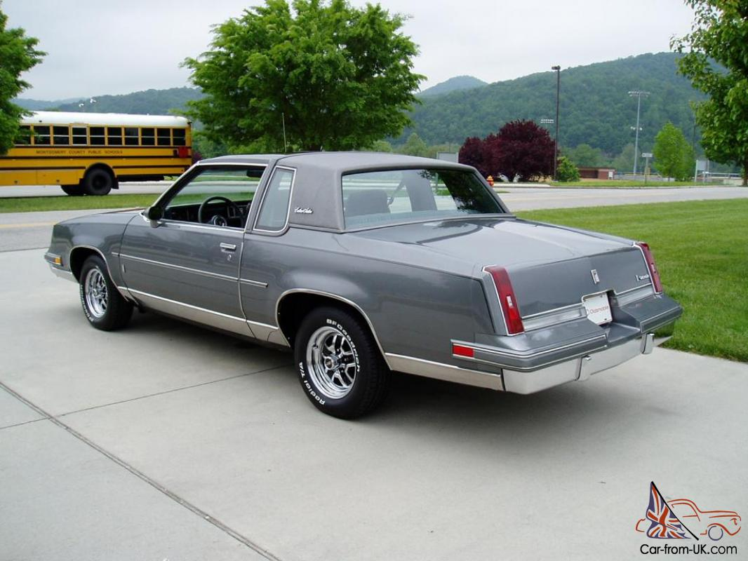 1985 oldsmobile cutlass salon 8k actual miles never
