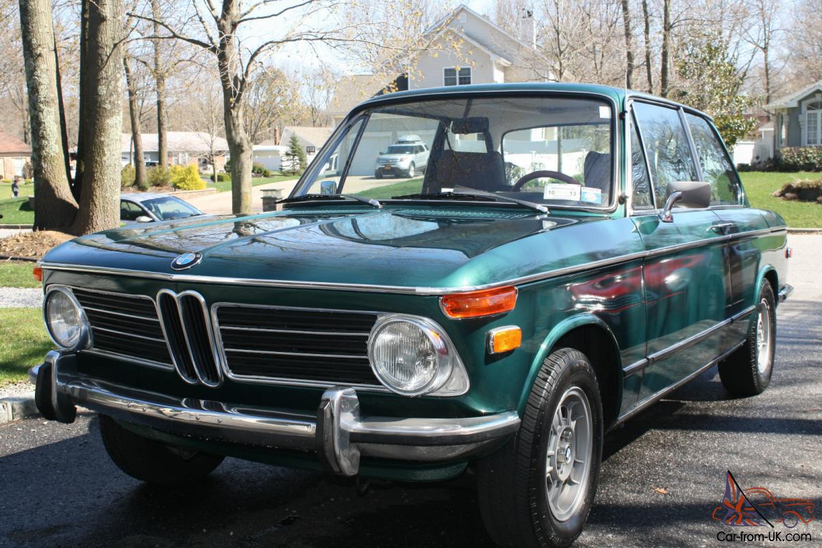 1972 bmw 2002 tii excellent condition green with brown interior. Black Bedroom Furniture Sets. Home Design Ideas