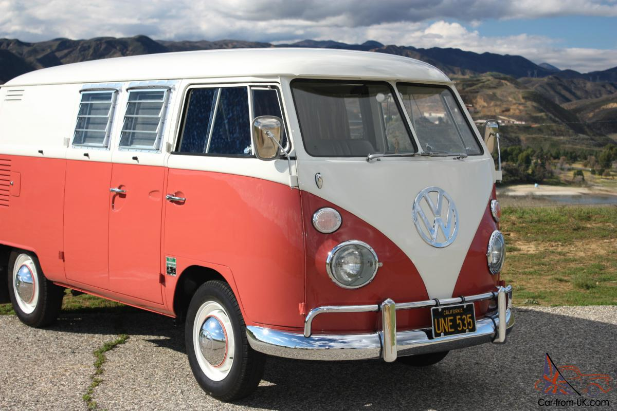 1967 Volkswagen Bus Micro Bus EZ Camper of America split window