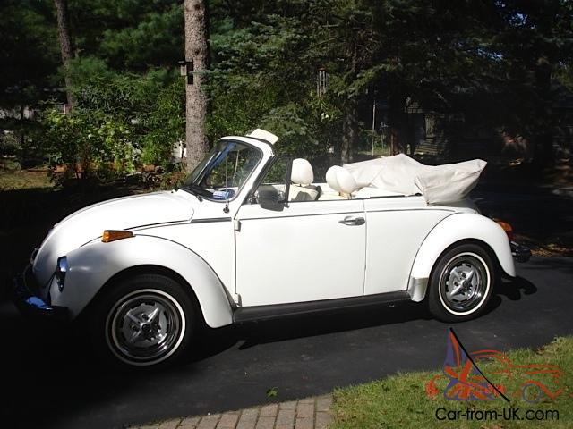 Mint Condition 1979 Vw Beetle Clic Convertible