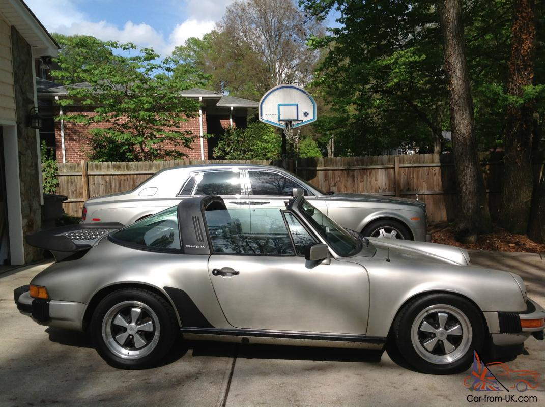 1982 Porsche 911 Sc Targa Clean Carfax Oem Whale Tail And