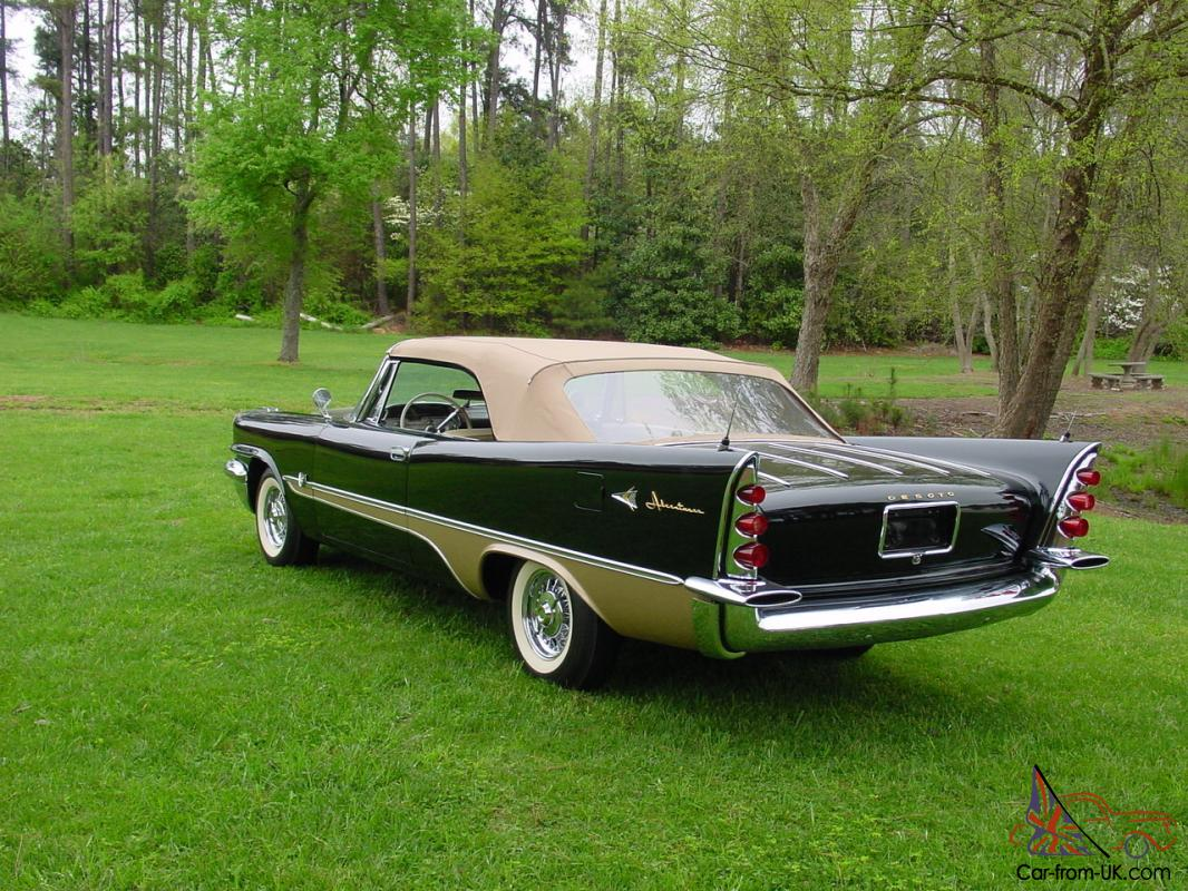 1957 desoto fireflite for sale - This Stunning Restored Desoto Fireflight Convertible Is A Well Known
