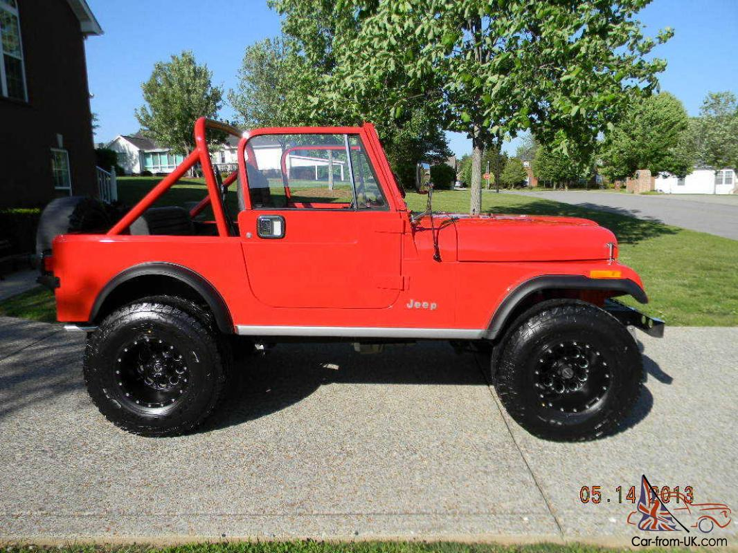 Jeeps For Sale In Tn >> 1984 Jeep CJ7*Hardtop*Very Nice*Low Miles**LOW RESERVE**